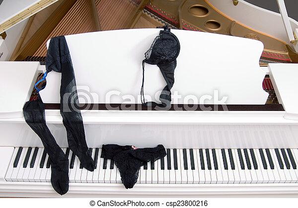 klavier, spitze, & - csp23800216