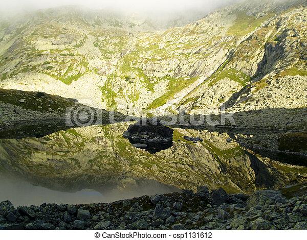 Kleiner Bergteich - csp1131612