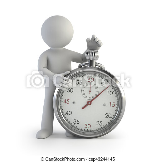 3d kleine Leute - Chronometer - csp43244145