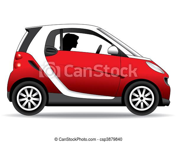 kleine auto - csp3879840