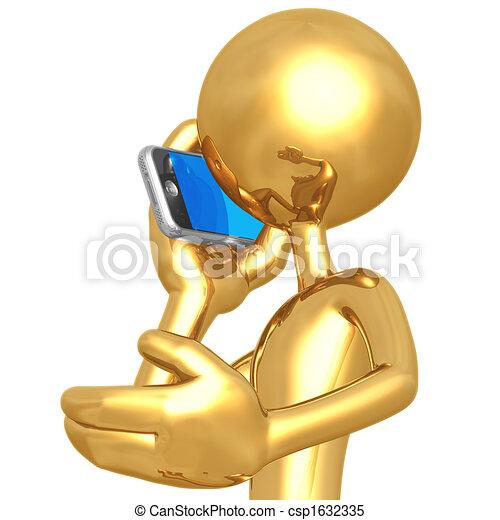klesten, cellphone - csp1632335