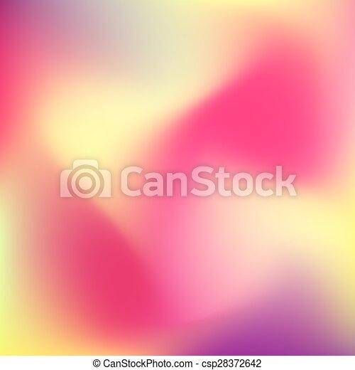 kleur, abstract, achtergrond, verdoezelen - csp28372642