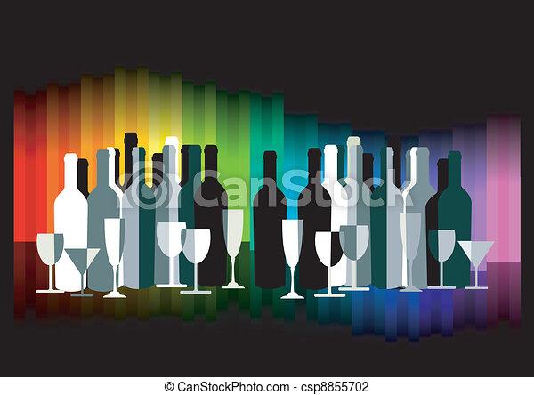 kleur, bar - csp8855702