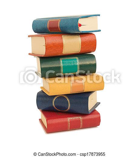 kleur, boekjes  - csp17873955