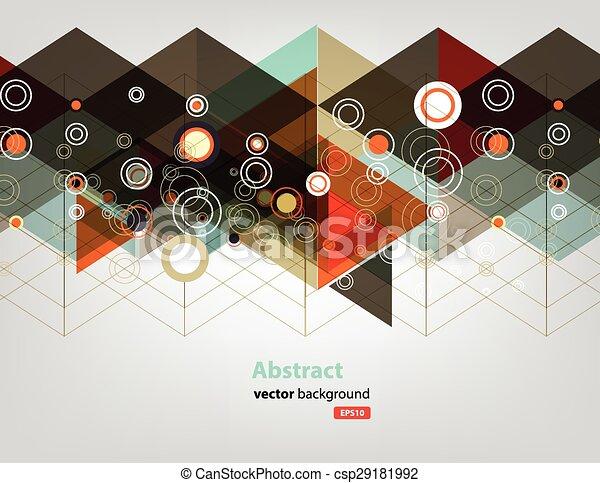kleur, technologie, netwerk, punt - csp29181992