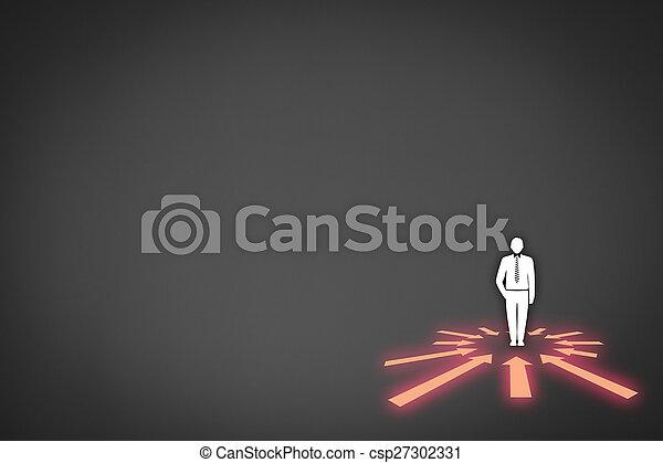 klient, indywidualność, osobnik - csp27302331