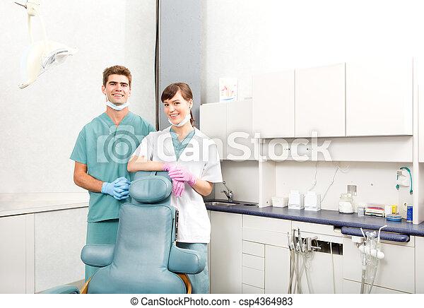 klinik, lag, dental - csp4364983