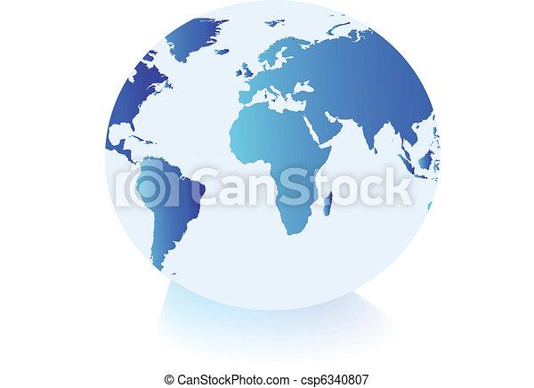 klot, värld - csp6340807