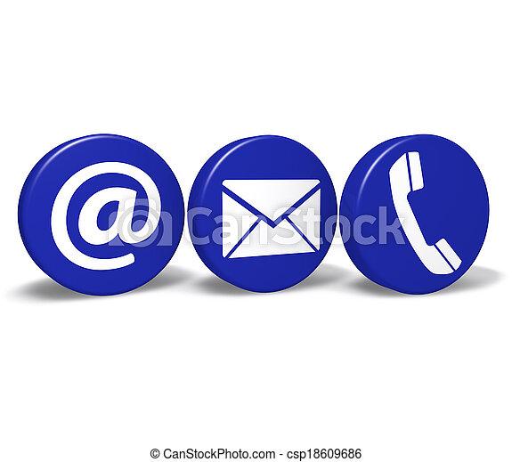 knäppas, nät, kontakt oss - csp18609686