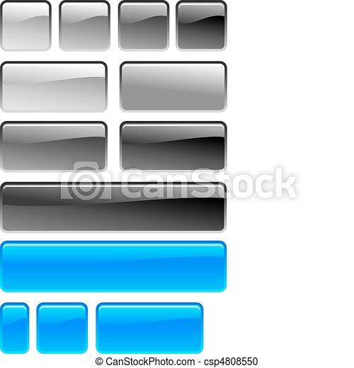knapp, fyrkant - csp4808550