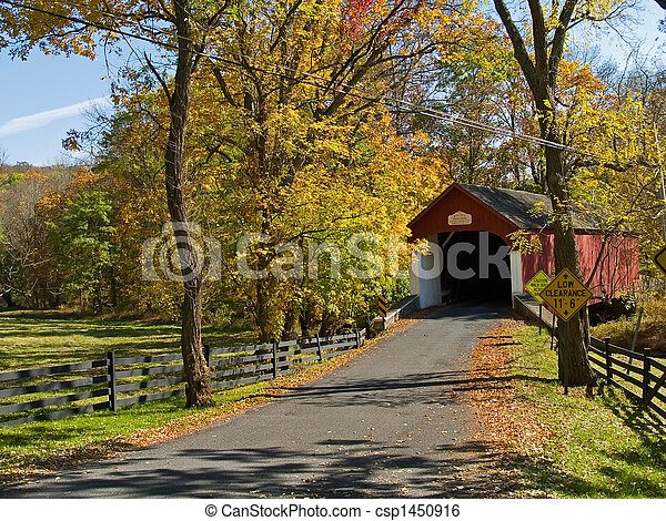 Knechts Covered Bridge - csp1450916