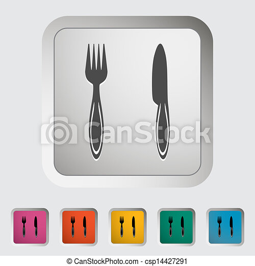 Knife and fork - csp14427291