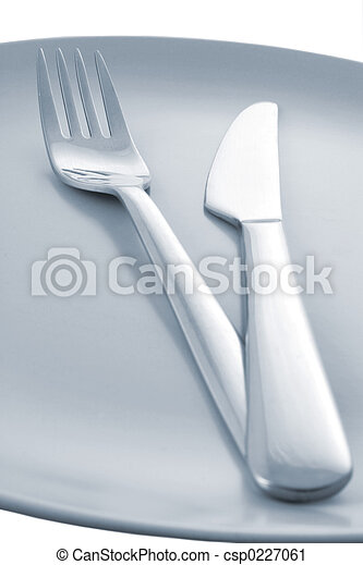 Knife and Fork - csp0227061
