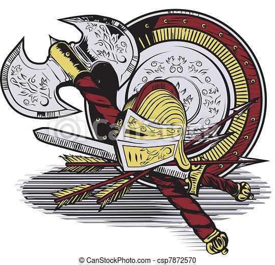 Knight Armaments - csp7872570