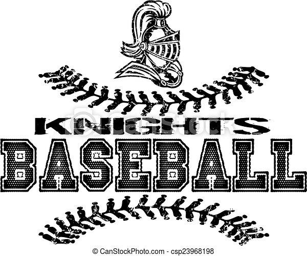 knights baseball - csp23968198