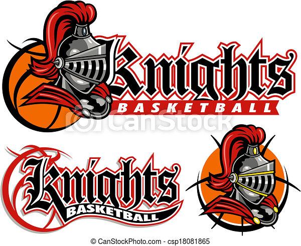 Knights Basketball Designs