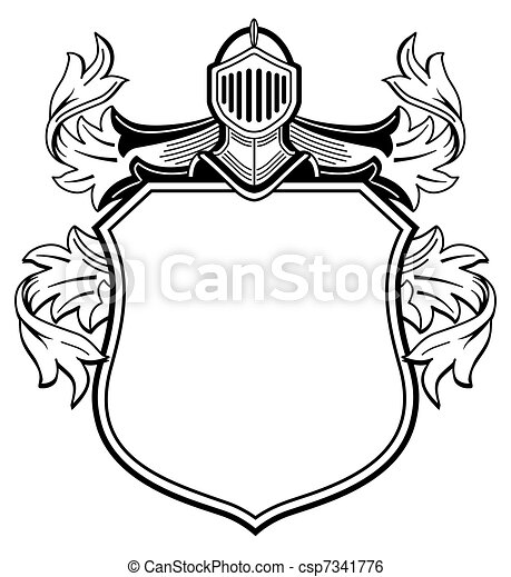 knight s coat of arms knight s coat of arms rh canstockphoto com coat of arms vector free download medieval coat of arms vector