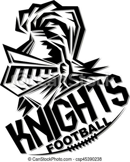 knights football - csp45390238