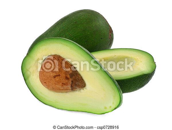 knippen, avocado, #4 - csp0728916
