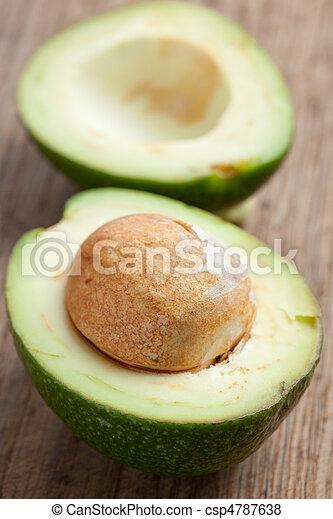 knippen, avocado - csp4787638