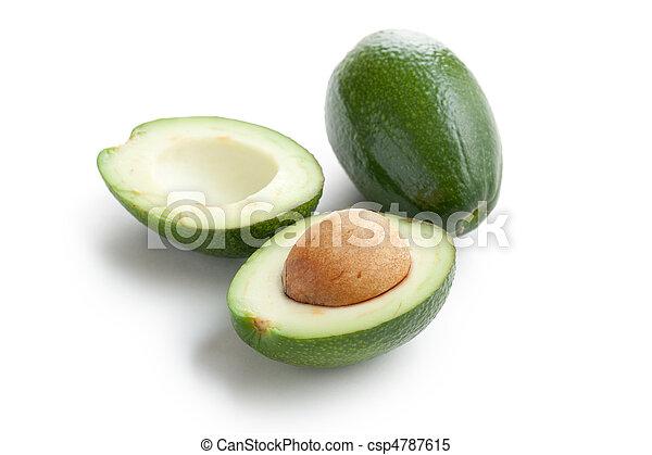 knippen, avocado - csp4787615
