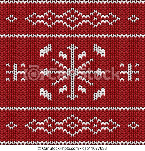 Knit pattern model - csp11677633