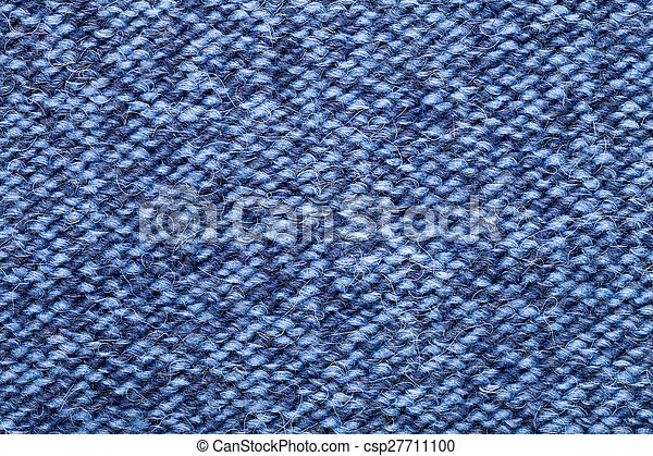 c9705c8f2fb Knitted melange fabric cloth pattern. Blue knitted fabric made of ...