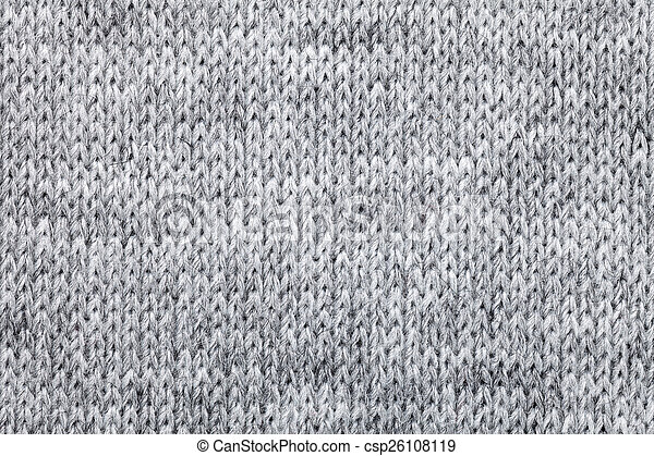 063cec69983db3 Knitted melange textile pattern. Real grey knitted fabric made of ...