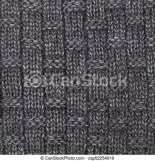 b5b2d267b2e Knitted melange textile pattern. Grey knitted fabric made of ...
