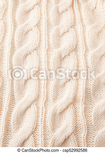 Knitted Pattern As A Background White Cable Knit Pattern As A