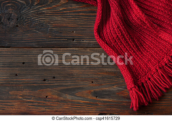 Knitted scarf - csp41615729