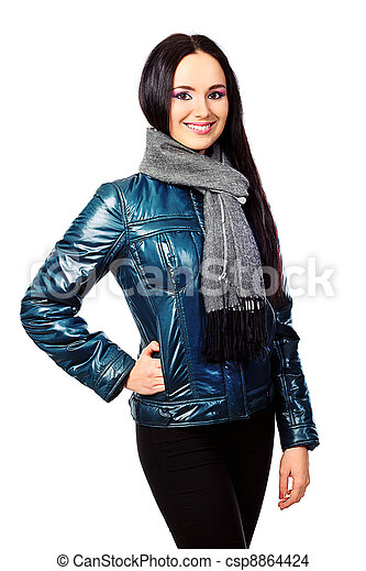 knitted scarf - csp8864424