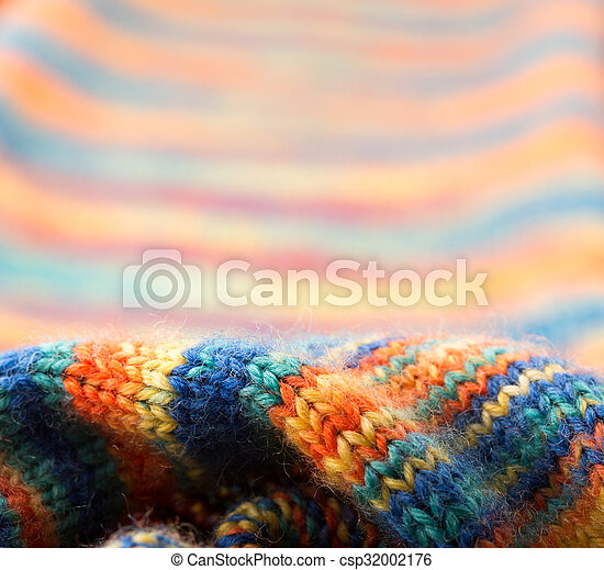 Knitted texture  - csp32002176
