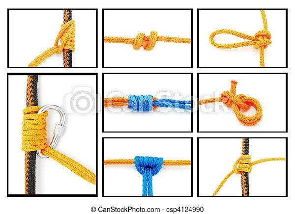 knots collage - csp4124990