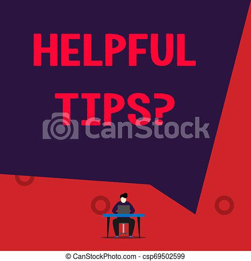knowledge., informatie, gegeven, of, behulpzaam, zijn, tekst, raad, question., meldingsbord, geheim, foto, conceptueel, tips, het tonen - csp69502599
