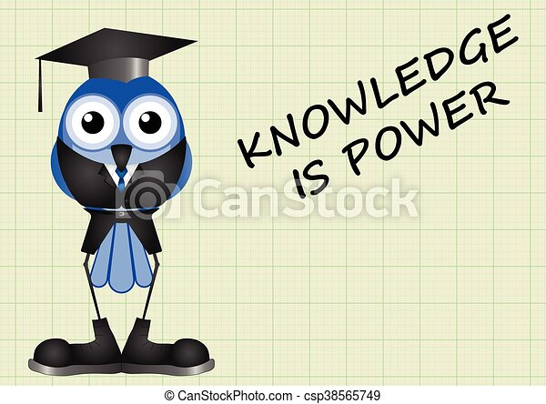 Knowledge is power - csp38565749