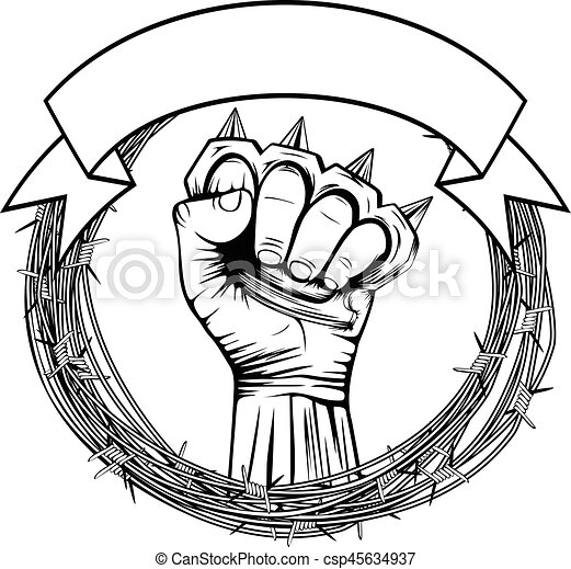 vector illustration barbed wire and hand with brass barbed wire clip art dividers barbed wire clip art designs