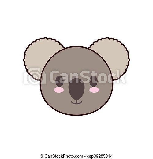 Image of: Doodles Koala Kawaii Cute Animal Icon Csp39285314 Can Stock Photo Koala Kawaii Cute Animal Icon Koala Kawaii Cute Animal Little Icon