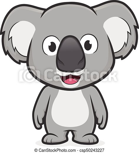 koala standing clipart picture of a koala cartoon character standing koala clipart black and white cute kawaii koala clipart png