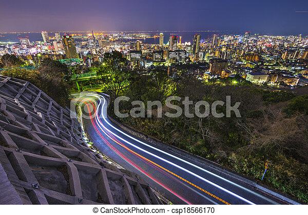 Kobe, Japan - csp18566170