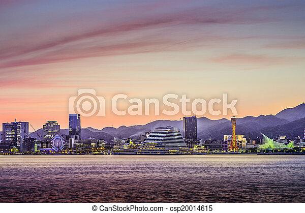 Kobe, Japan - csp20014615