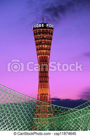 Kobe Japan Port Tower - csp11874645