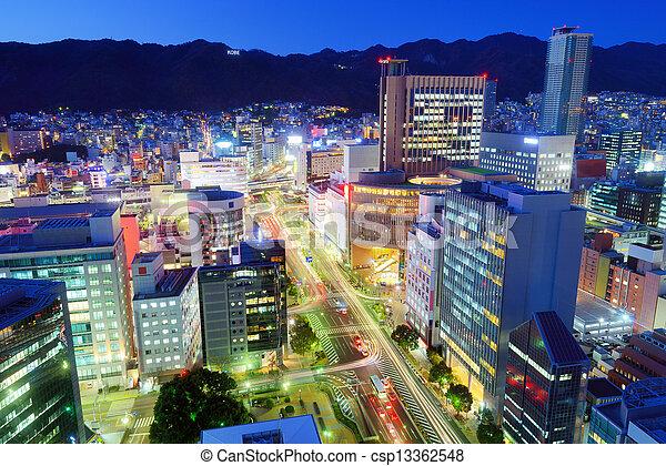 Kobe Japan - csp13362548