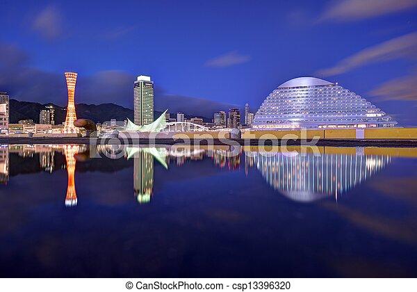 Kobe, Japan - csp13396320