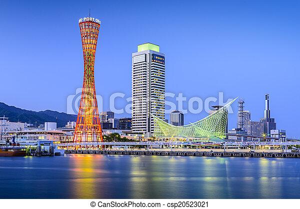 Kobe, Japan - csp20523021