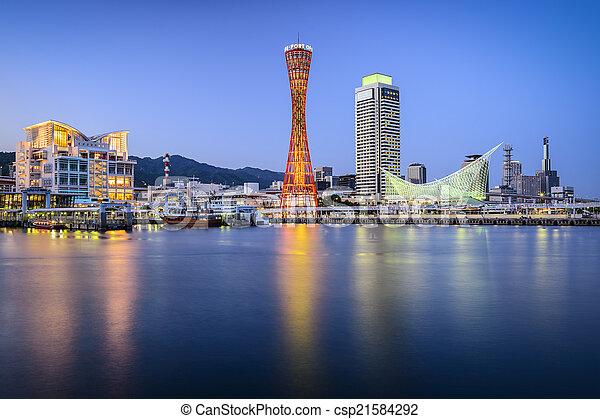 Kobe, Japan - csp21584292