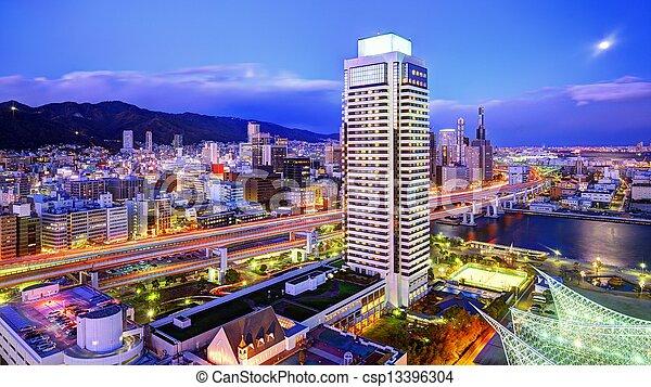 Kobe Japan - csp13396304