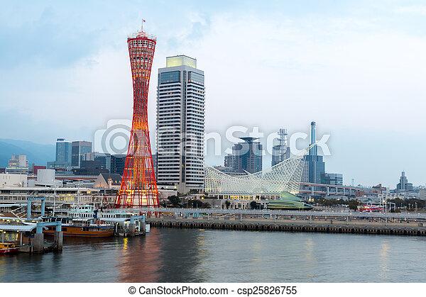 Kobe Tower Japan - csp25826755
