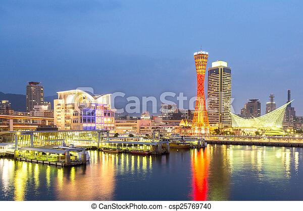 Kobe Tower Japan - csp25769740