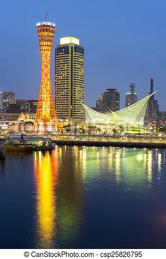 Kobe Tower Japan - csp25826795